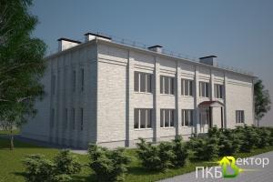 Проект Реконструкции Административного здания