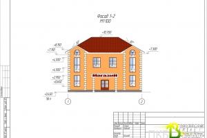 Проект здания под магазин 01